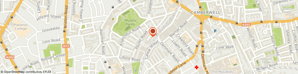 Route/map/directions to Allianceuk Ltd, SE5 0TF London, 8 Camberwell Trading Estate, 117-119 Denmark Road