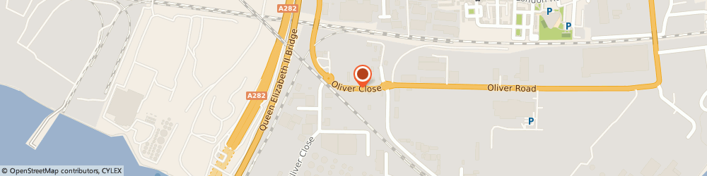 Route/map/directions to Asbestos Waste Solutions, RM20 3EE West Thurrock, 27A Oliver Close