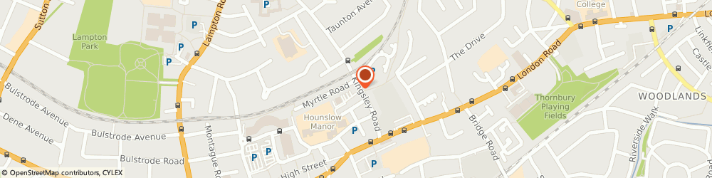 Route/map/directions to Polani Travel Ltd, TW3 1QA Hounslow, 84 Kingsley Road
