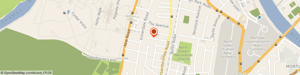 Route/map/directions to Nutritional Balance Ltd, TW9 2EL Richmond, 58 WINDSOR ROAD