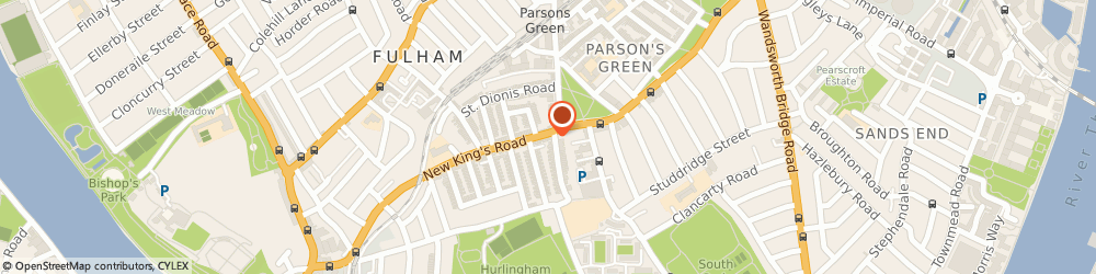 Route/map/directions to Katie & Jo, SW6 4RB London, 253 New Kings Rd