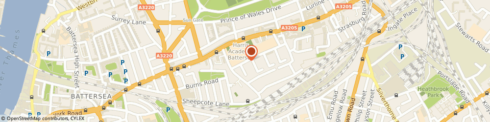 Route/map/directions to Locksmiths Battersea, SW11 5DN London, Dagnall Street