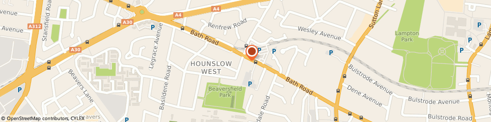 Route/map/directions to DPD Parcel Shop Location - Simply Hardware and Pound Plus, TW4 7DN Hounslow, 298 Bath Road