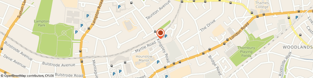 Route/map/directions to A1 express CARS ltd, TW3 1QA Hounslow, 88 Kingsley Rd