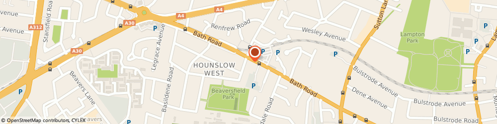 Route/map/directions to Riz & Co Chartered Accountants, TW4 7DN Hounslow, 298A Bath Road