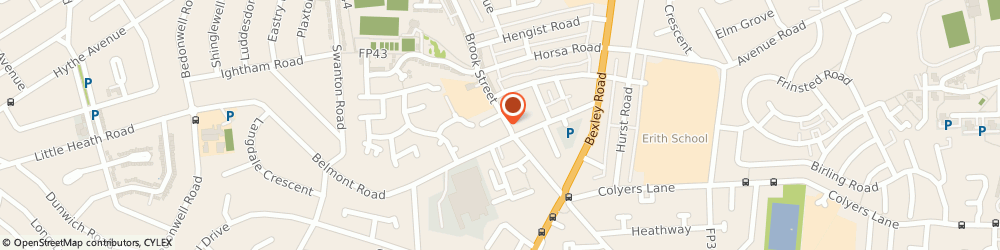 Route/map/directions to Heritage Care - Brook Street, Erith, DA8 1JJ Erith, 101, Brook Street