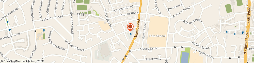 Route/map/directions to M Fortuna, DA8 1HW Erith, 27, Mill Rd