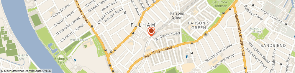 Route/map/directions to Safestore Self Storage Fulham, SW6 4ER London, 37 Munster Road