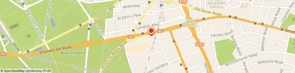 Route/map/directions to Shooters Hill Road Limited, SE3 7BD London, FLAT 3, 32 SHOOTERS HILL ROAD