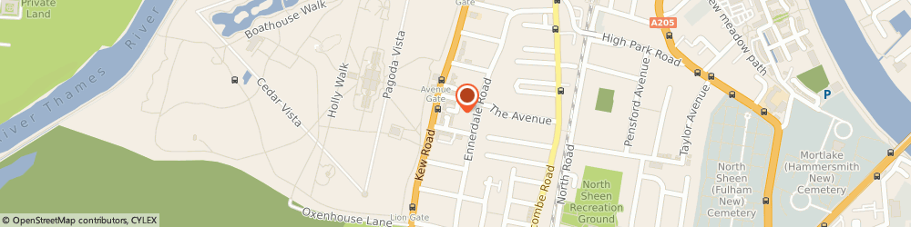 Route/map/directions to The Railway Tavern, TW9 1DN Richmond, 28 The Quadrant