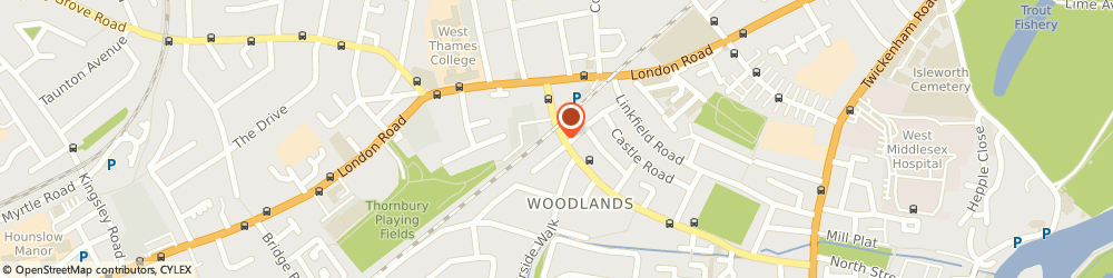 Route/map/directions to Tupper Bros, TW7 6NB Isleworth, 27 St. Johns Road