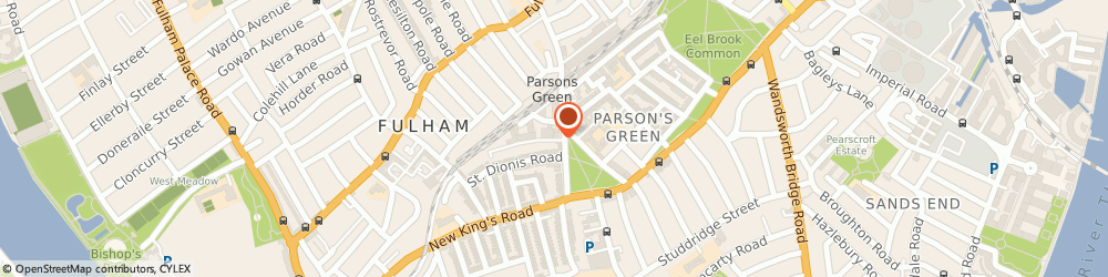 Route/map/directions to Wedding List Services Ltd, SW6 2BW London, UNIT 9/TALINA CENTRE, 23A BAGLEYS LANE