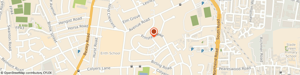 Route/map/directions to Geotess And Sons Limited, DA8 3JX Erith, 62 FRINSTED ROAD