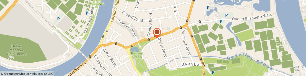 Route/map/directions to Creations, SW13 9HH London, 79 Church Road