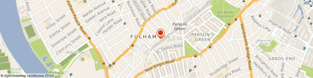 Route/map/directions to The Power Yoga Company, SW6 4EH London, 11-12 Lettice St, The Glass House