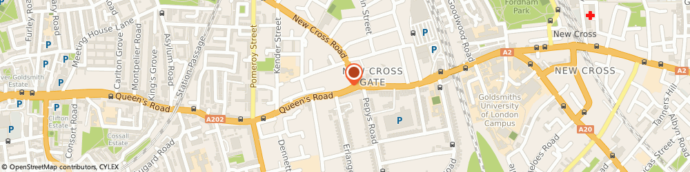 Route/map/directions to UPS Solutions Logistics, SE14 5HD London, 391 Queens Road