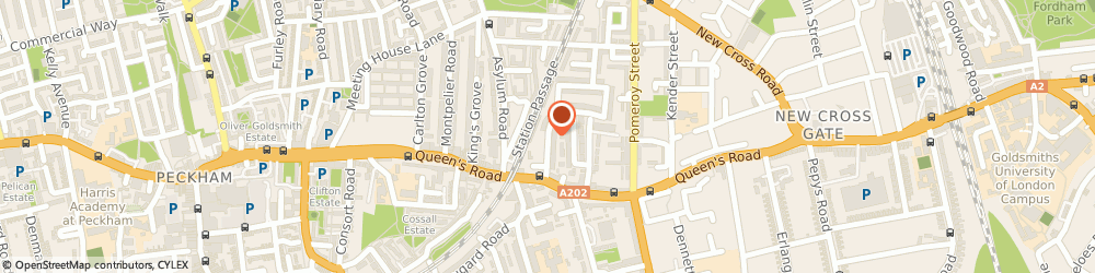 Route/map/directions to Tiny Tots Rentals, SE15 2NL London, 35a Astbury Rd