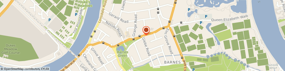 Route/map/directions to Locksmith Barnes, SW13 0DQ London, Church Road