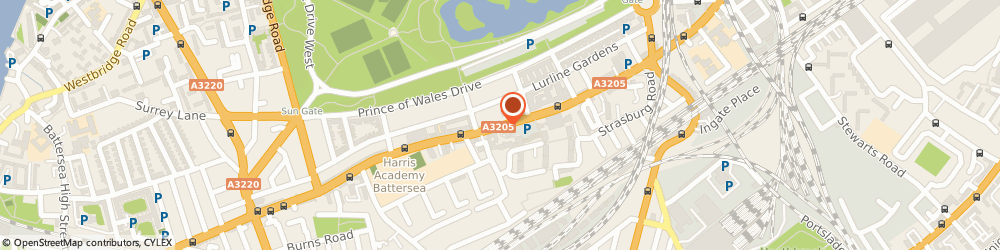 Route/map/directions to Locksmith Battersea, SW11 4ND London, Battersea Park Road