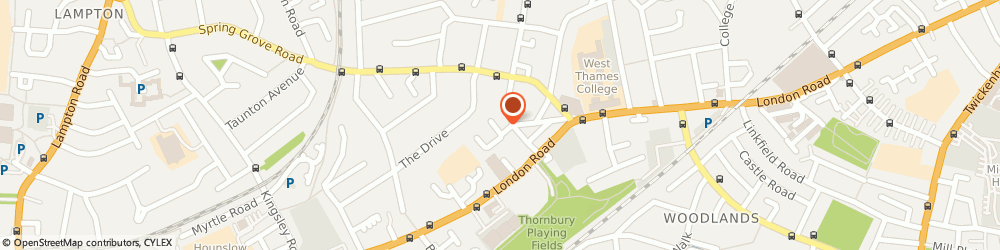 Route/map/directions to EMERY CHAUFFEURS, SW17 9SH London, Thornbury Road