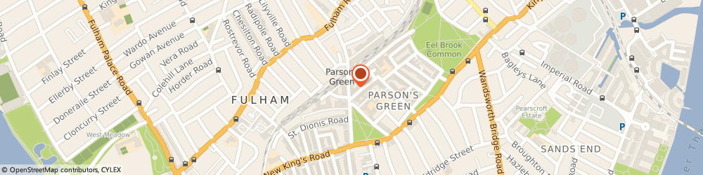 Route/map/directions to Italian Lessons London, SW6 4JA London, 53 Parsons Green Lane