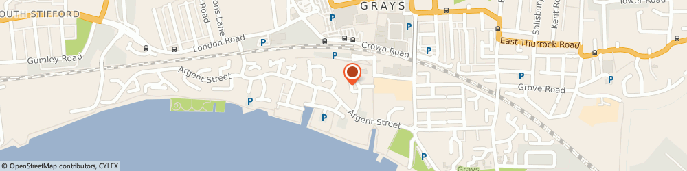 Route/map/directions to D & P Fun Times, RM17 6JJ Grays, 14 Vicarage Square