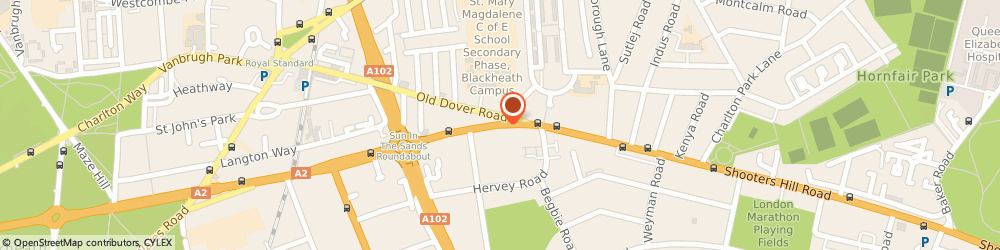 Route/map/directions to Road Radio Ltd, SE3 8UQ London, 125 SHOOTERS HILL ROAD