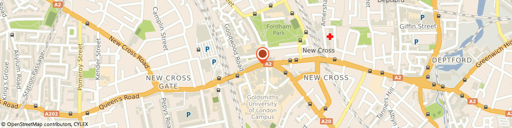 Route/map/directions to M P S Travel & Shipping Ltd, SE14 6AS London, 303 NEW CROSS ROAD