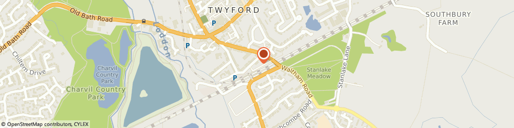 Route/map/directions to D'arcys, RG10 9ND Reading, 5 Montreal Terrace, Twyford