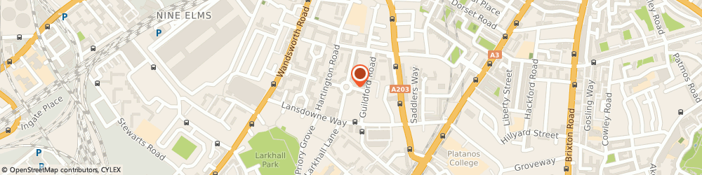 Route/map/directions to Fairbrother Lenz Eley Ltd, SW1W 8QB London, 37 ST BARNABAS STREET