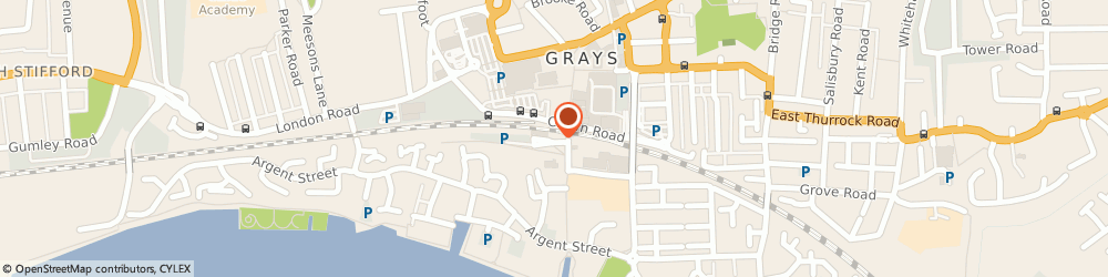 Route/map/directions to Chillies of Grays, RM17 6NQ Grays, 2A Station Approach