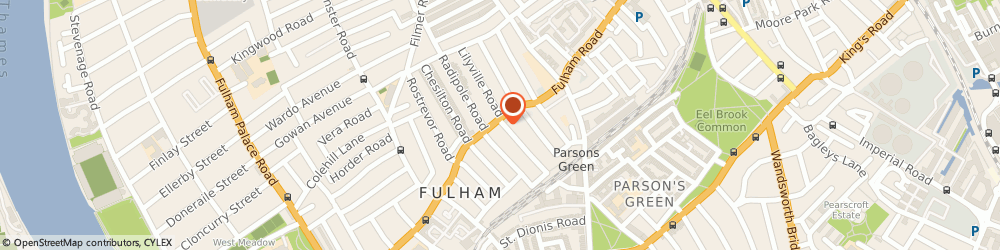 Route/map/directions to T & G Clothing Ltd, SW6 5HD London, 783 FULHAM RD