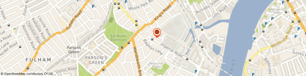 Route/map/directions to zsah Ltd Managed Technology Services, SW6 2AG London, Unit 7, 3-11 Imperial Road