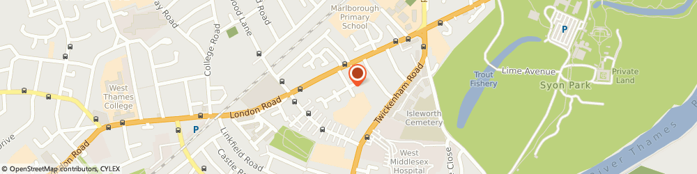 Route/map/directions to Cosy Home Care Isleworth, TW7 5AB Isleworth, 1 Turnpike Way