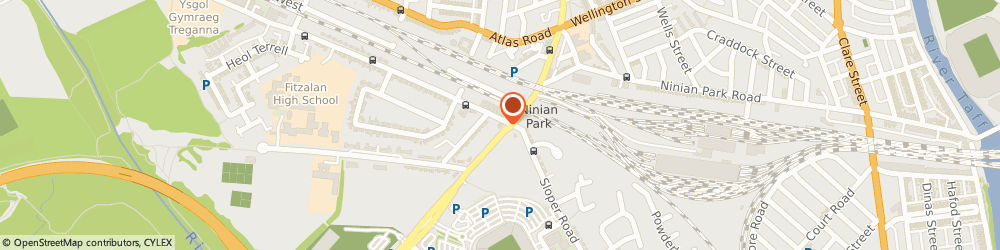 Route/map/directions to Clegg Gifford Insurance, CF11 8AP Cardiff, 64 Leckwith Road