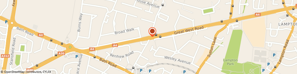 Route/map/directions to Heston Tyres Service, TW5 9AW Hounslow, 226 Great West Rd