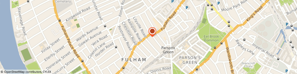 Route/map/directions to Ex-Cellar Retail, SW6 5HA London, 775 Fulham Rd