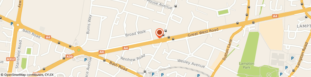 Route/map/directions to Harren Services Ltd, TW5 9AW Hounslow, 210 GREAT WEST ROAD