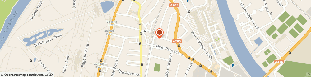 Route/map/directions to ASDA Tyres - Chris & Chris Motors, TW9 4HJ Richmond, 97 - 101 North Road