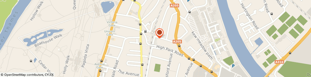 Route/map/directions to Southern Cross Flooring, TW9 4HJ Richmond, 97-101 North Rd