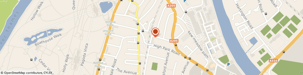Route/map/directions to Neighboorhood Cafe Yukari, TW9 4HJ Richmond, 110 North Rd