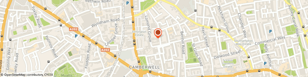 Route/map/directions to At Height, SE5 7HN London, Camberwell Business Centre, 99-103 Lomond Grove