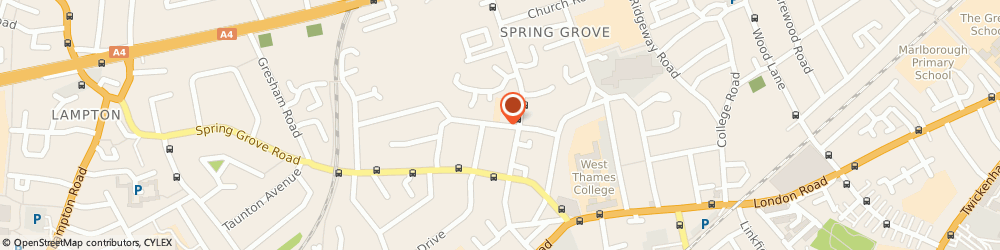 Route/map/directions to Ashton House School, TW7 4LW Isleworth, 50-52 Eversley Crescent