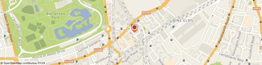 Route/map/directions to Wtc Ltd, SW8 4AR London, ARCH 704, HAVELOCK TERRACE