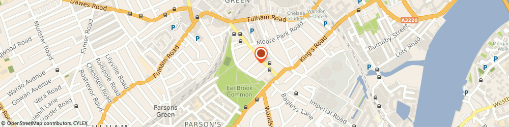 Route/map/directions to Ernex Group, SW6 4QA London, 7, BLAKE GARDENS
