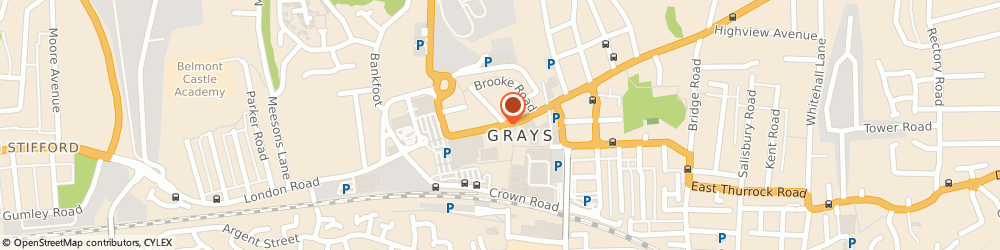 Route/map/directions to Drake International, RM17 5XY Grays, 2-4 LONDON RD