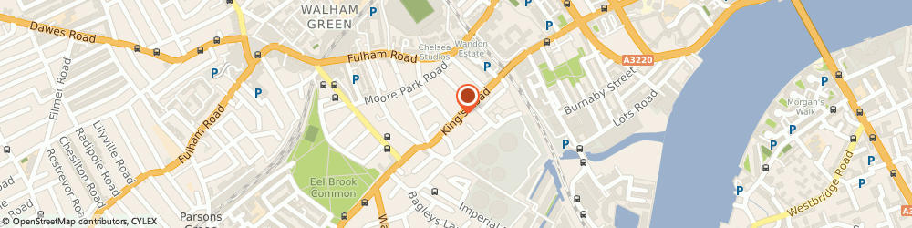 Route/map/directions to Orchid's London, SW6 2DX London, 604 King'S Road