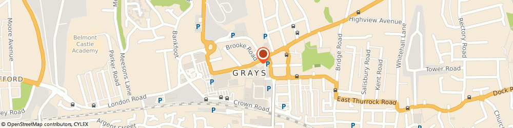 Route/map/directions to Green Box Solutions, RM17 5DL Grays, 8A ORSETT ROAD