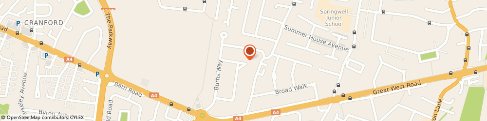 Route/map/directions to Qp Accountants, TW5 9BH Hounslow, 97 SHELLEY CRESCENT