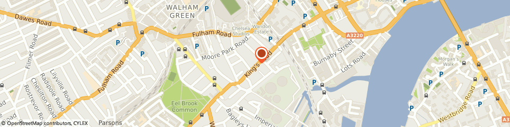 Route/map/directions to Juliette's Interiors Limited, SW6 2DX London, 598 Kings Rd